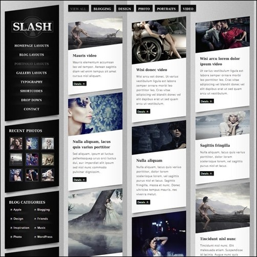 Slash WP - Creative|Premium wordpress themes