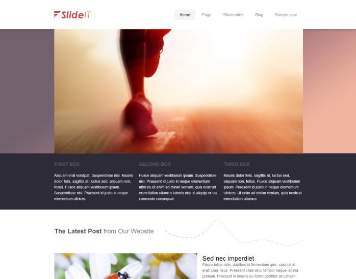 SlideIT Wordpress Theme - Premium wordpress themes