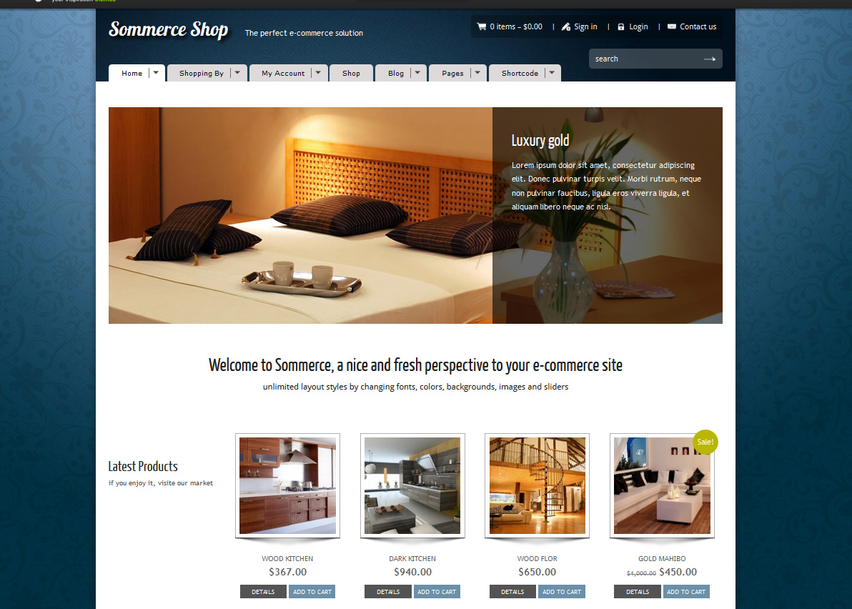 Sommerce Shop - A Versatile E-commerce Theme - Ecommerce Premium wordpress themes