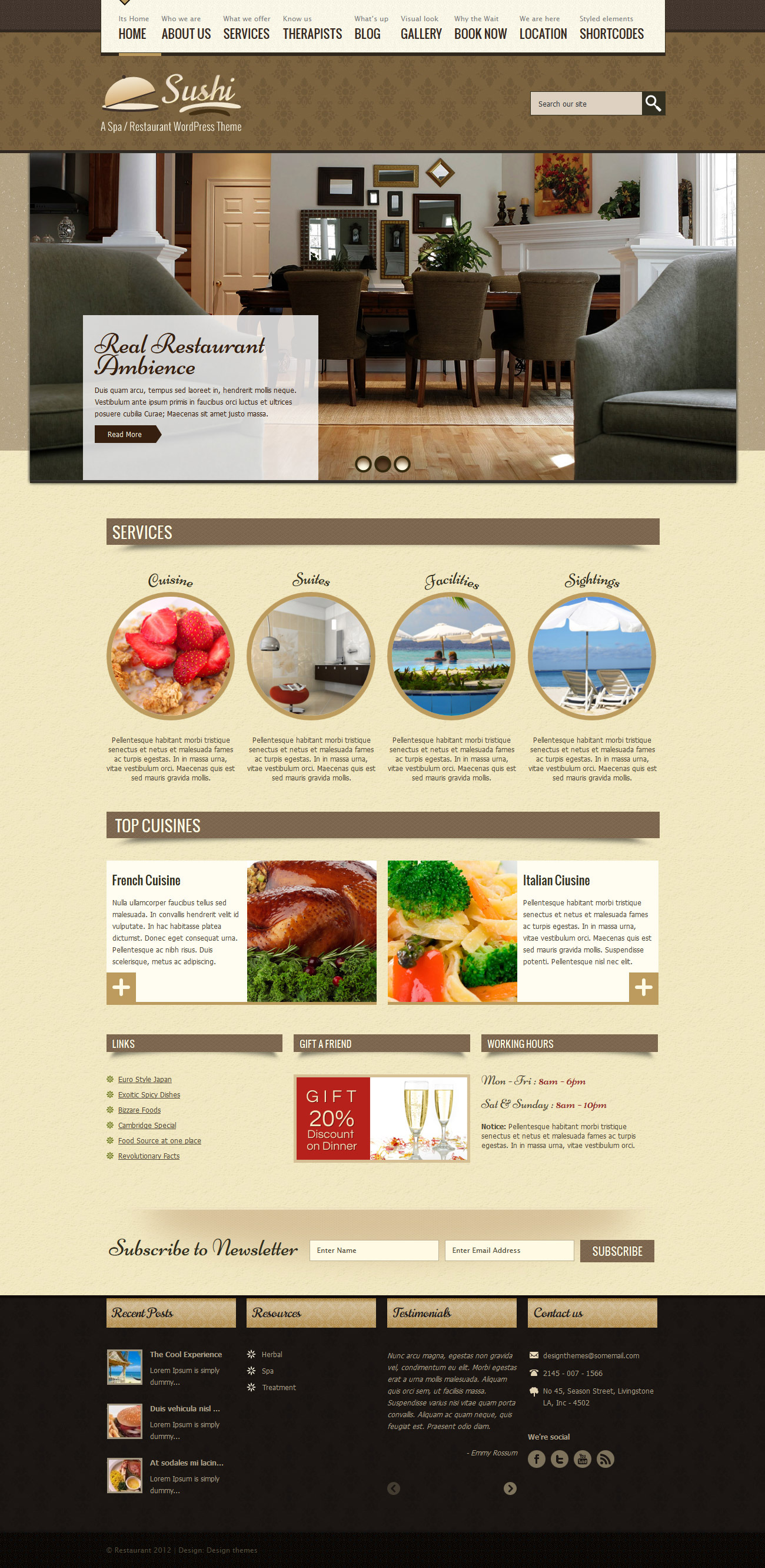 SPA Treats - Spa & Restaurant WooCommerce Theme - Travel|Ecommerce>WooCommerce