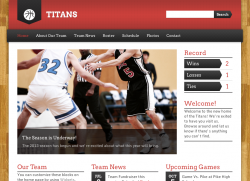 Sports Team Theme - Premium wordpress themes|Sports