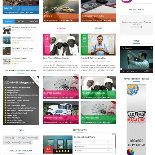 Steam - Responsive Retina Review Magazine Theme - Gaming|Magazine|Review