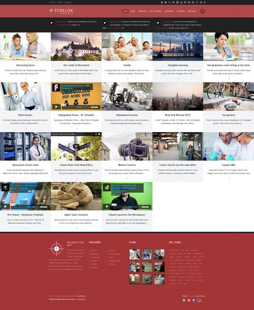 Strelok - Retina Responsive WordPress Blog Theme - Creative|Magazine