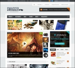 SwagMag - WordPress Magazine/Review Theme - Gaming