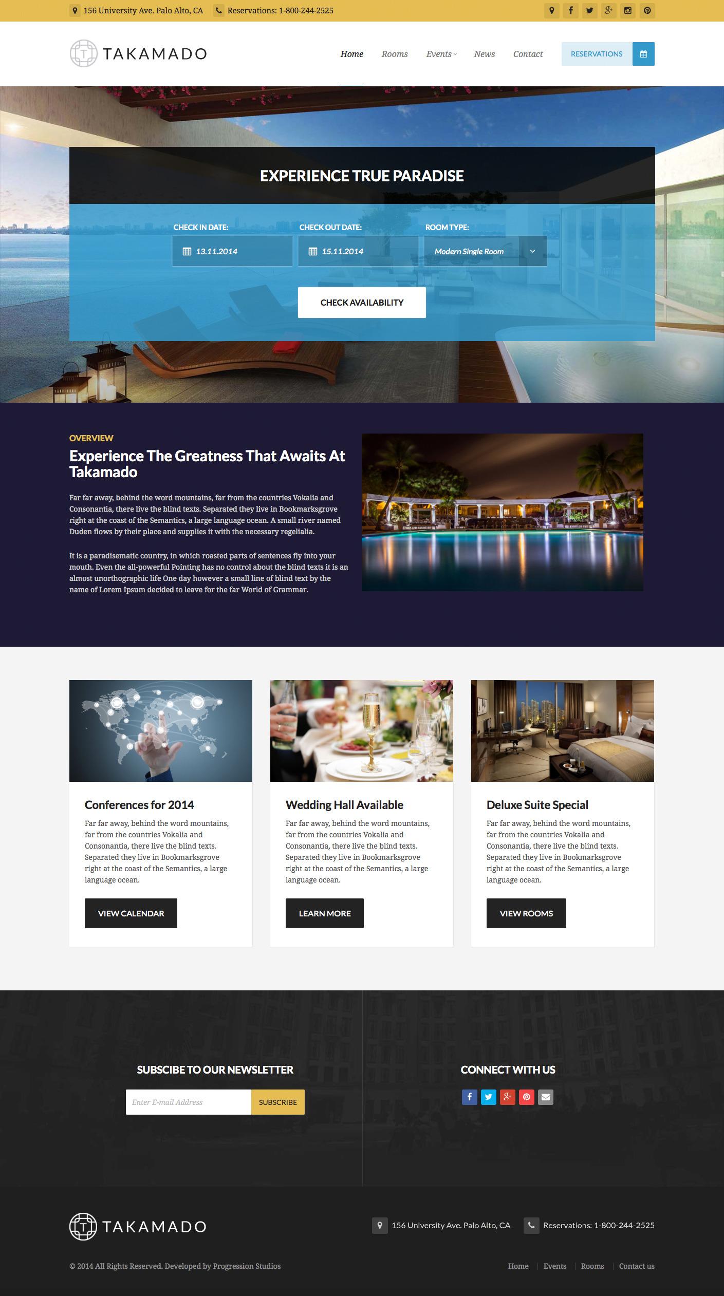 - Hotel|Premium wordpress themes