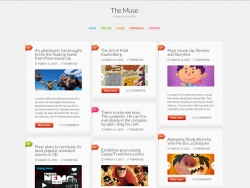 The Muse Inspiration WordPress Theme - Magazine|Tumblr-Style