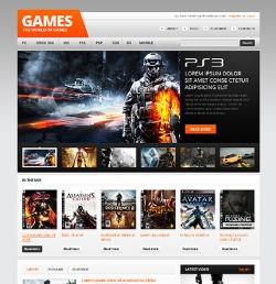 The world of games - Gaming WordPress Theme - Gaming
