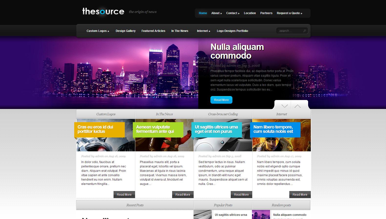 TheSource WordPress Theme - Premium wordpress themes