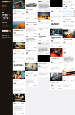 TheWall - Grid-A-Licious Blog and Portfolio theme - Pinterest