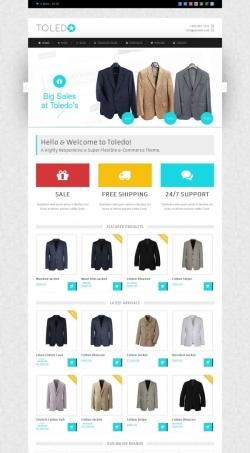 Toledo - Premium eCommerce Theme - Ecommerce>Jigoshop|Ecommerce>WooCommerce