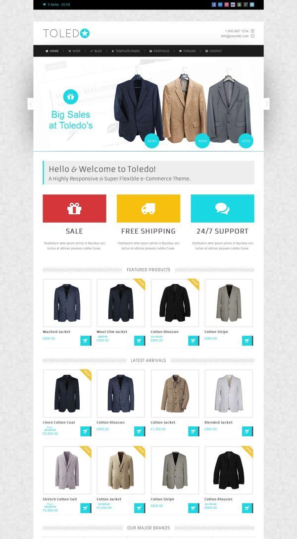 Toledo - Premium eCommerce Theme - Ecommerce>Jigoshop Ecommerce>WooCommerce
