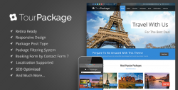 Tour Package - Wordpress Travel/Tour Theme - Travel