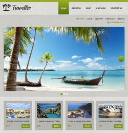 Traveller - Travel WordPress Theme - Ecommerce>Jigoshop|Travel