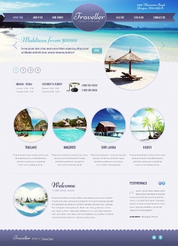 Traveller - Travel Wordpress Theme - Travel