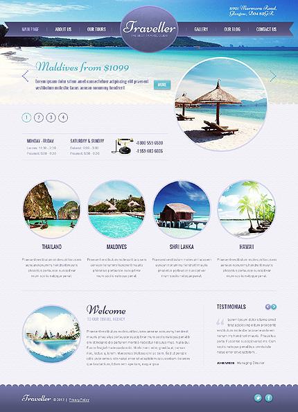 Traveller - Travel Wordpress Theme - Travel