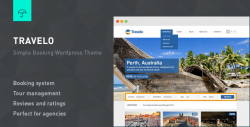 Travelo - Responsive Booking Wordpress Theme - Hotel|Travel