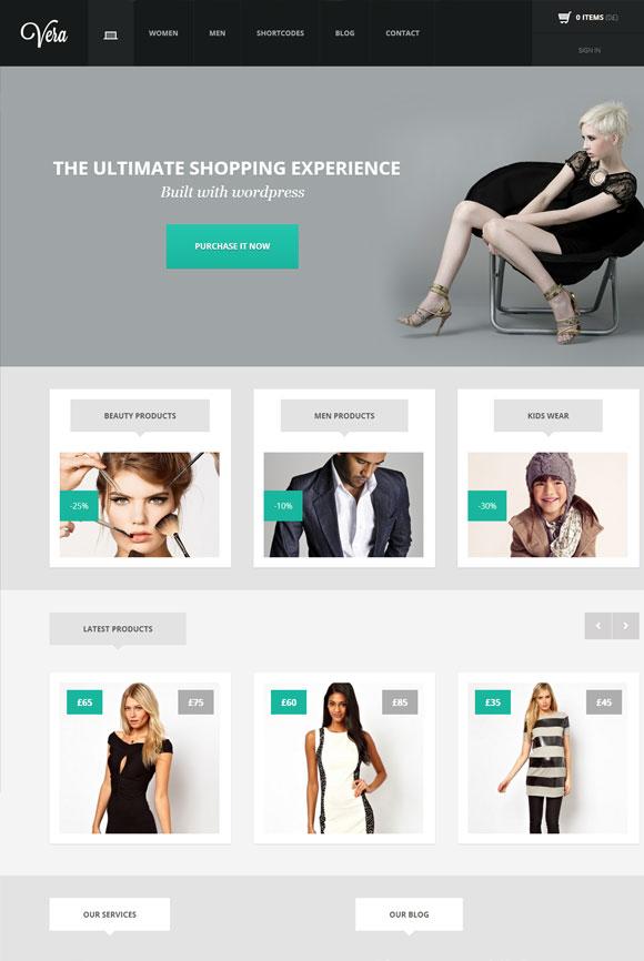 Vera - Responsive e-Commerce Theme for Wordpress - Ecommerce>WooCommerce