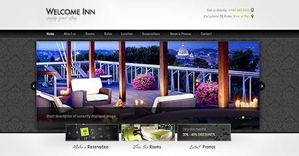 Welcome Inn wordpress theme - Hotel|Premium wordpress themes