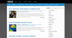 WhosWho WordPress Theme - Magazine