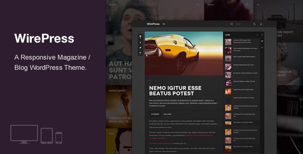 WirePress - Magazine & Blog WordPress Theme - Magazine|Review