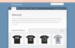 Wootique free eCommerce Wordpress Theme - Ecommerce>WooCommerce
