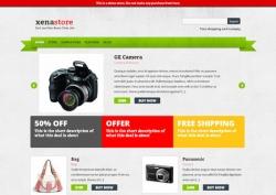 Xenastore free eCommerce Wordpress Theme - Ecommerce>Cart66