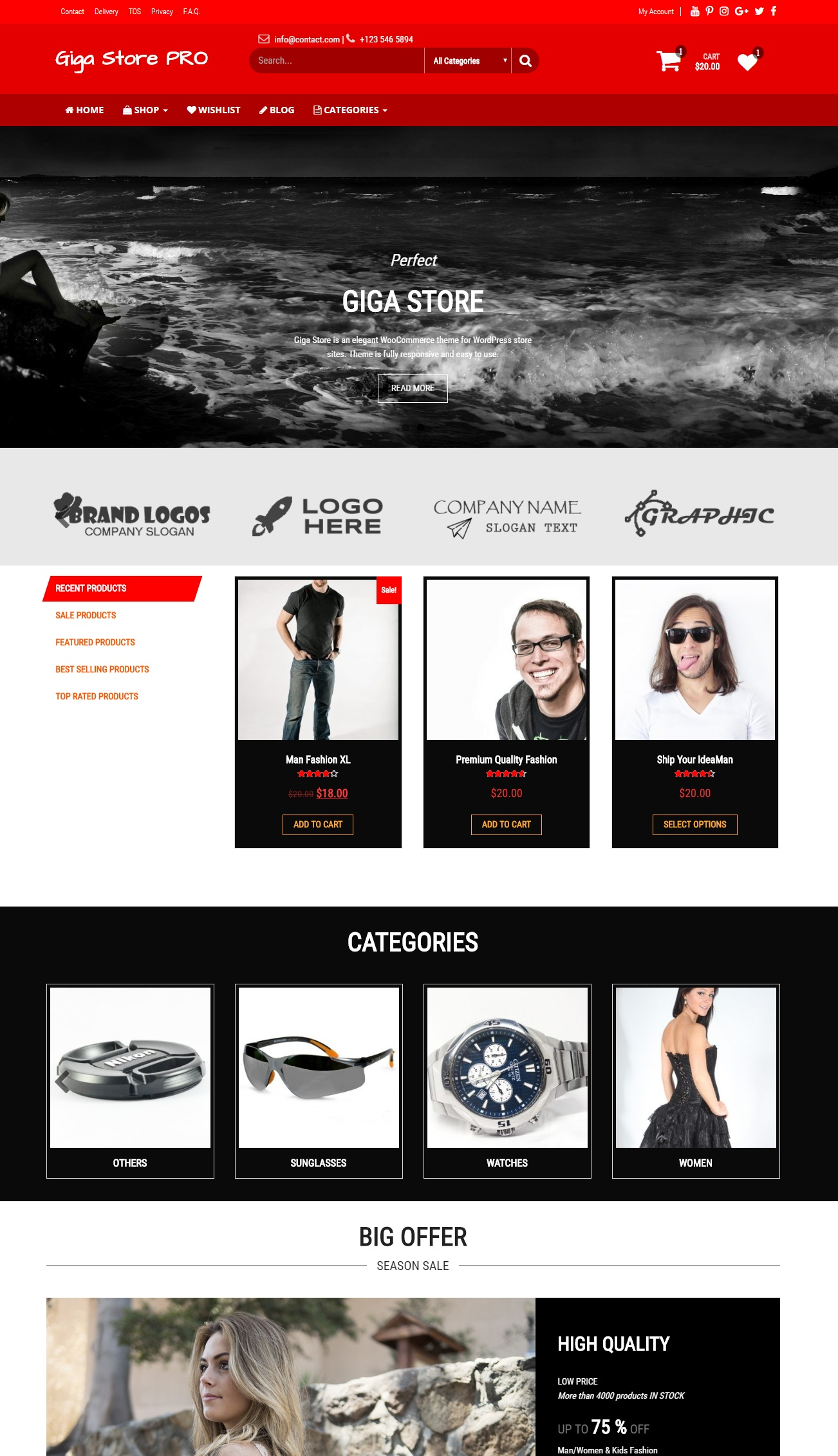 Giga Store PRO