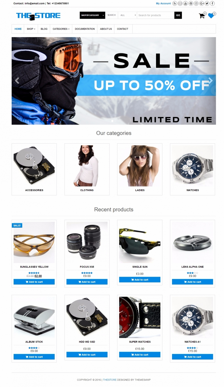 Best Free WooCommerce Themes 2016 - Themes4WP
