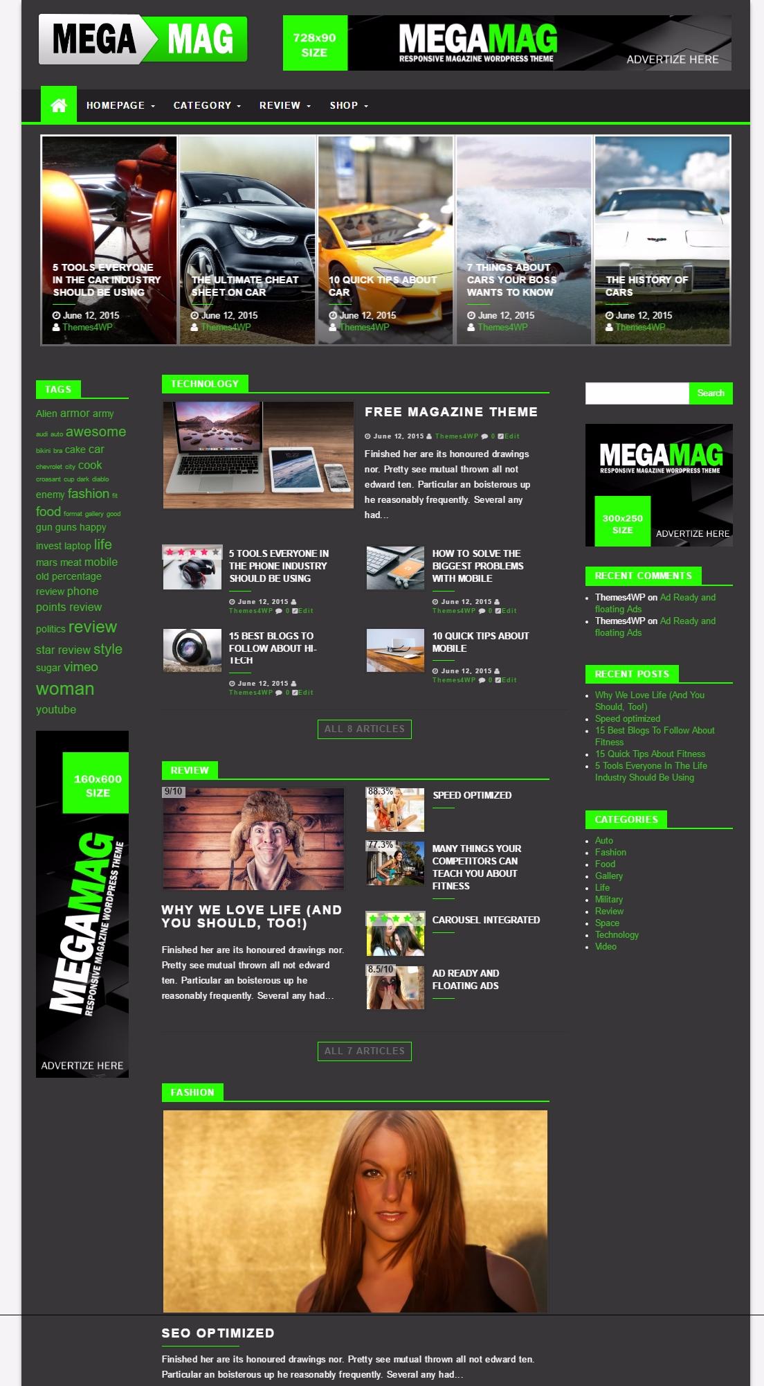 Best Magazine WordPress Themes - Themes4WP