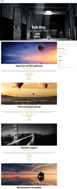 top wordpress themes with demo content importer feature themes4wp