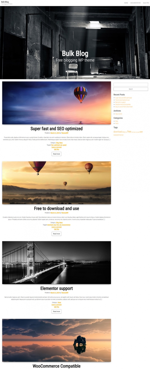 50+ Best Free Personal Blog WordPress Themes 2016 - Themes4WP
