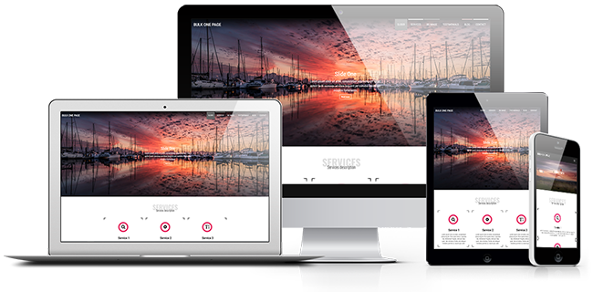 Bulk One Page WordPress Theme